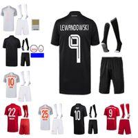 Robert Lewandowski Homens Kid Jersey Futebol Terno Davies Kimmich Thomas Muller Serge Gnabry Neuer Goretzka Coutinho Hernández Camisa de Futebol