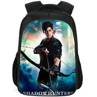 alec lightwood الظهر shadowhunters daypack matthew daddario المدرسية حقيبة الترفيه طباعة حقيبة الرياضة حقيبة مدرسية في الهواء الطلق