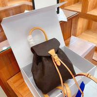 2021 роскошные женщины крошечные сумки модные дизайнеры рюкзаки школьные сумки сумка для школы классические сумки студента тиснение цветов l21011102