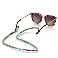 Eyeglass Titular Reteste Eyewear Retentor Womens Mens Sunglasses Eyeglasses Strap para Drivers de Esportes Espetáculos Cordão Cordão FFF1620