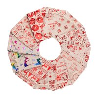 Рождественская подарочная сумка мультфильм Санта-Клаус конфета сумка снеговика рождественское дерево печать Холст сумка шкалы мешки на шнурки емкости боевые мешки рождественские принадлежности WQ45