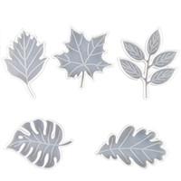Stampi in silicone resina epossidica fai da te stampi di goccia in cristallo piccolo grande foglie di acero foglie tazza tappetino stampo artigianale strumenti vendita calda 9qz m2