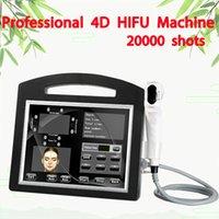 20000 Снимки Портативный 4D / 3D Hifu Машина для лица, поднятие лица Удаление лица Лицо Лицо Машина для лица Снижение жира Тело для похудения Вагинальный HIFU
