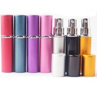 Upmarket 5ML портативный мини пополняемые парфюмерные ароматы азаронизавшими атомной атомной бутылкой пустой спрей с 2 наполнителем воронка для путешествий