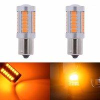 Katur 2PCS 1156 BAU15S PY21W 7507 Светодиодные лампочки для автомобилей Поверните Сигнальные огни Амберы / Оранжевое освещение Белый красный синий 5630 33smd1