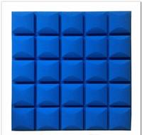 Studio Sound Isolation Panels 50x50cm Foam Sound Akustikgröße Ausgezeichnete Proofbehandlung Dicke 5 cm Schalldämmung Big SQCTJ