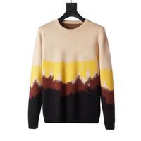 2020 새로운 스타일 남성 고품질 풀 오버 커플 라운드 넥 스웨터 니트 스웨터 숙녀 겨울 니트 스웨터 크기 M-XXL