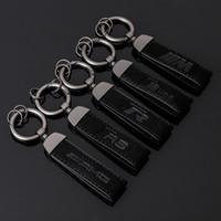 M TRICOLOR SLINE AUDI RS Volkswagen R Benz AMG Sude Car Metal Key Chain