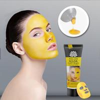 Despegue la máscara anti envejecimiento hidratante Collagen Limpieza profunda de la limpieza de los poros de oro 60 ml Purizando el removedor de la cabeza negra con la máscara de los tallarines