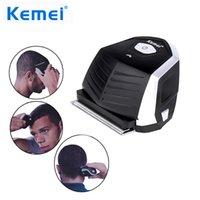 Kemei Km-6032 clipper di capelli tagliacapelli elettrici trimmer professionale professionale per uomo rasoio barba tagliente cordless 9 x pettine di taglio