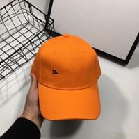 العلامة التجارية الجديدة 4-color قبعة بيسبول التطريز إلكتروني كاب الرجال والنساء العلامة التجارية مصمم snapback غولف البيسبول قبعة