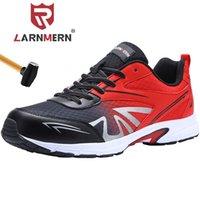 Ларнмерные мужские стальные носки труда безопасности обувь Легкие дышащие ботинки против разбивкой нескользящей конструкции защитная обувь 201223