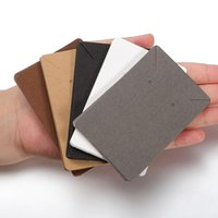 50pcs / lot 귀걸이 및 목걸이 디스플레이 카드 골판지 귀걸이 포장 휴대용 태그 카드 귀 스터드 쥬얼리 6x9cm Q SQCIOH에 대 한 종이 카드