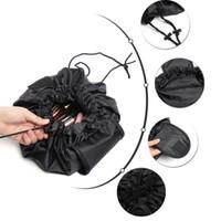 25 Tasarım Kozmetik Çantası Sihirli Makyaj Çantaları İpli Çanta Sundry Depolama Organizatör Seyahat Kılıfı Taşınabilir Tuvalet Yıkama Çantaları Unisex Eee3518