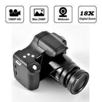 HD 1080 وعاء الكاميرا الرقمية المحمولة كاميرا الفيديو خفيفة الوزن 1080P 3.0 بوصة شاشة LCD دعم tf بطاقة الشاشة الكاميرا الرقمية 1