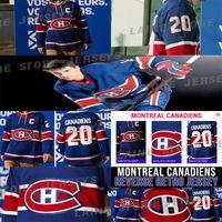 Montréal Canadiens Jersey 2020-21 Reprendre Retro 31 Carey Prix 11 Brendan Gallagher 14 Nick Suzuki 15 Jersey Kotkaniemi Hockey Jerseys