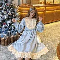 Japanischer Kawaii Weiche Mädchen Wind Lolita Kleid Kleines schwarzes Kleid Frauen Frühling 2019 Neue tägliche Nette Prinzessin