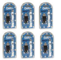 Cookies 510 Batterie de Vape Préchauffage Vapes Piles Patteries E Cigarettes Kits de démarrage 350mAh Tension réglable Vaporisateur Vaporisateur Chargeur ECIG