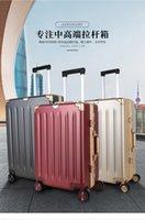 Password di marea maschile del bagaglio del bagaglio, leggera, piccola valigia da viaggio femminile della ruota universale, custodia del trolley di moda durevole