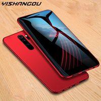 Per Xiaomi Redmi Nota 9 9s 8T 8 PRO 7A 8A 9A Caso Slim Hard PC Cover opaco per Coque Xiaomi MI Nota 10 Lite 9T Poco F2 Pro