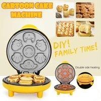 Cartoon Cake Machine Brot Maschine Heizung Backen Brotmacher Für Kinder Home Toaster Frühstücksgitter Schmerz