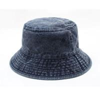 رجل امرأة الدنيم دلو القبعات البيسبول قبعات قبعة قبعة بيسبول للرجل إمرأة casquette 4 لون رجل امرأة دلو قبعة شمام