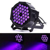 Nyaste Design U'King 72W LED-lampor Lila Ljus DJ Disco KTV PUB LED-effekt ljus högkvalitativ material LED-steg Ljusröstkontroll