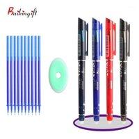 12pcs / lot löschbare magische Stift-Refill-Set waschbarer Griffgel-Schulbüro-Schreiben von Lieferungen Student Weihnachten Geschenke1