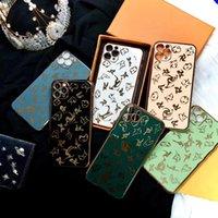 Caso de luxo para iphone 11 12 pro max 7 8 mais galvina borda fashion phone caso para iphone x xs max se 2020 capa capa fundações