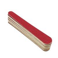 50 stücke Mini Nageldatei doppelt seitlich Nagelpuffer Salon Sanding Polieren Maniküre Werkzeuge 50 qylhgw