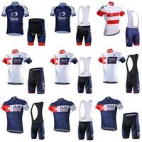 Nuovo! Iam Cycling Jersey 2018 Ropa Ciclismo Hombre Pro Team Abbigliamento Bicicletta Quick Dry Manica corta MTB Bib Bib / Shorts Set C2203