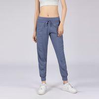 Kadın Yoga Stüdyo Pantolon Bayanlar Hızla Kuru İpli Koşu Spor Pantolon Gevşek Dans Stüdyosu Jogger Kız Yoga Pantolon Spor Salonu Fitness