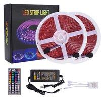 Yeni Tasarım Plastik 150-LED Dim Dim Işık Şerit IR Uzaktan Kumanda Ile Set Üst dereceli Malzeme LED Şeritler (Beyaz Lamba Plakası)