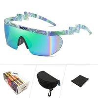 Kilig Neff Sunglasses da uomo Donna Vintage Sport Goggles Oversize Goggles Clip On Shades UV40 Protezione Occhiali da sole Lentes de Sol Mujer Q1126