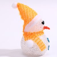 Luminous Snowman Christmas Children' s Toy Decoration Gi...