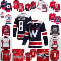 Hockey Jersey Alex Ovechkin Henrik Lundqvist Nicklas Backstrom T.j. Oshie John Carlson Tom Wilson Jakub Vrana Evgeny Kuznetsov