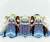 MDF TTO Süblimasyon Boş Boyama Simetrik Sevgililer Günü Hediyesi Dalgalı Resim Woodblock Sanat Resimleri Özgünlük 11 4xmA O2