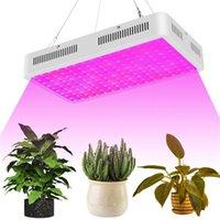 1500 W Yüksek Yoğunluklu LED Çift Cips 380-730nm Tam Işık Spektrumu LED Bitki Büyüme Lambası Beyaz Işıkları İç Mekan Büyümek