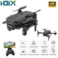 HGIYI KF611 طائرة بدون طيار 1080P 4K HD كاميرا مع 2.4 جرام wifi fpv rc مصغرة وقت الرحلة 10 دقيقة quadcopter طوي dron لعبة M73 E88 Y1128