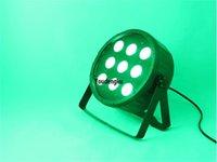 8 ADET Noel Partisi Sahne Dekorasyon Szbecen Par LED 9x15 W DMX RGBWA 5 1 LED PAR 64 Düz Işık