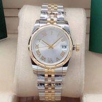 Mode Bestseller Hochwertige Frauen 31 mm Diamantuhr Sapphire Spiegel Automatische mechanische Frauen Sport Wasserdichte Uhr