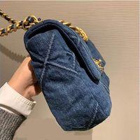 Frauen Luxurys Designer-Taschen 2021 Damenmode Crossbody Bag Hohe Qualität Damen Kette Handtasche Brieftasche und Puress Handtaschen