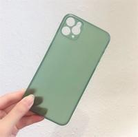 PP Matte Copertura del telefono cellulare Ultra sottile Trasparente Shell Glassato Protezione completa Casi per iPhone 12 Pro Max X XR XS 11 7 8 Plus per Samsung