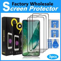 3 Packs de vendeurs chauds Protecteur d'écran 9H Verre trempé pour l'iPhone 12 Cell Phone Screen Protector