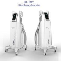 Novo Projetado Ems Estimulação Magnética Hi-EMT Músculo Estimulação Mais Fortaleza Músculo Rápido de Construção Corporal Escultura Máquina de Peso da Máquina