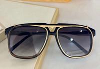 Зажим на солнцезащитные очки Золото Черная рамка Серый затененный Sonnenbrille Gafas de Sol de Men Fashion Flip Up Солнцезащитные очки с коробкой