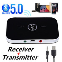 Bluetooth 5.0 استقبال الصوت الارسال 2 في 1 3.5 ملليمتر 3.5 جاك aux محول الموسيقى اللاسلكية USB دونغل لسيارة كيت التلفزيون الكمبيوتر سماعة