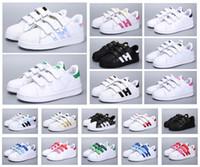 Jeune classique Stan Shar Smith Superstar Enfants Filles Enfant Baby Bébé Children Chaussures Casual Sport Taille 24-35