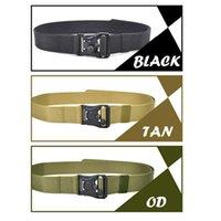 Apoio à cintura Moda ajustável Cinto de nylon de cinto pesado com fivela de liberação rápida magnética para wen ou mulheres