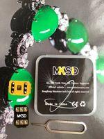 2021 mksd ios14.x فتح 3M لاصق الغراء ملصق ل iPhone 5S SE2 6/7/8 / X XS XR XS MAX 11 12 Pro Max Gevey Pro VSIM